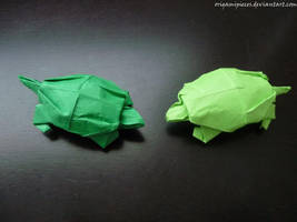 Origami Turtle by OrigamiPieces