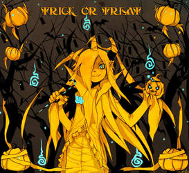 Trick or treat 09 by Yufei