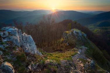 -When the sun touch landscape- by Janek-Sedlar