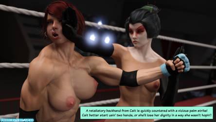 The F.U.T.A. - Season 01, Match 01 - Cait vs Fox by SquarePeg3D