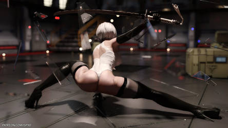 2B/Not - Release by SquarePeg3D