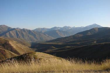 Utah mountains by Miffliness-Stock