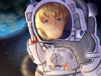 Out in Space by LigerSketch0X
