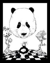 panda by miranjraza