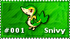 Snivy Stamp by lightpurge