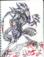 Sketor - Xenomorph blood by winddragon24