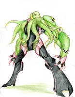 Ben 10 - Wrathsquid - new alien by winddragon24