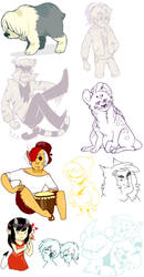 Once Upon a Doodle Dump by AhDeeOh