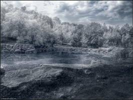 Frozen Lake by Adarhay