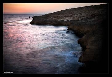 Fishing at Sunset by Adarhay