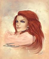 :Sketch- Ariel: by RezShirmeen