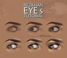 :RezKhan Eyes Tutorial: by RezShirmeen