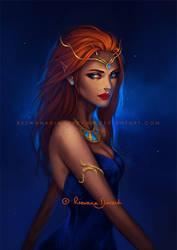 :Night_Elf: by RezShirmeen