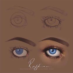 :Eye_Tutorial: by RezShirmeen