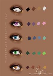 :Eye_colour_tutorial: by RezShirmeen