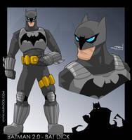 Batman 2.0 by OrcaDesignStudios