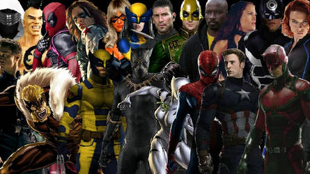 Marvel Street Battle Royale by TheVarosverse
