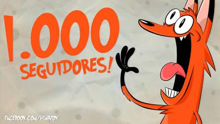 1000 seguidores! by ChesterArts