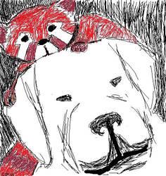 Pabu and Naga by heartsyhawk