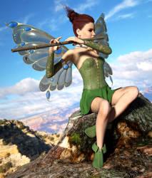 Fairy Song by WimVanDeBospoort