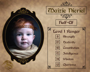Level 1 Ranger by Kyndelfire