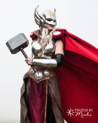 Goddess of Thunder by Kyndelfire