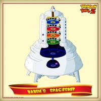 DBCU Babidi's Spaceship by cdzdbzGOKU