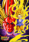 Red Dragon And Goku SSJ DBGT by cdzdbzGOKU