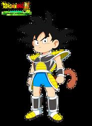Charadesign de Kid Goku Film DBS Broly by cdzdbzGOKU