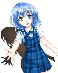 Girl Loli Sanae (Original Ver.) by ChiharuOnizuka