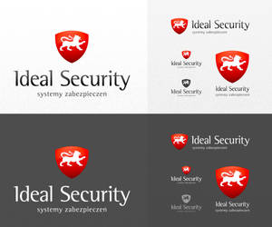 Ideal Security Logo by sone-pl