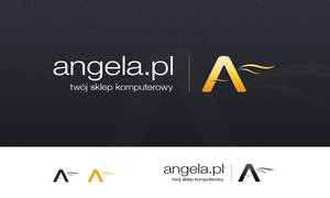 Angela Computer Store Logotype by sone-pl
