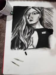 Self Portrait  by WinrysArt