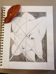 A leaf in four by WinrysArt