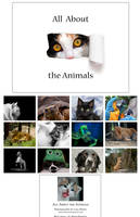 All about the animals calendar by fangedfem