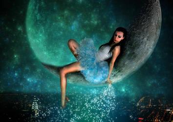 Moon Fairy - V2 by pyziutek