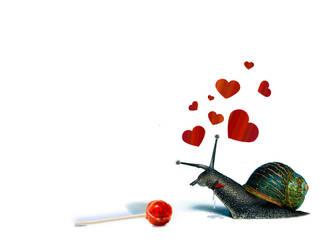 horney snail... by pyziutek