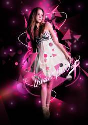 pink girl by pyziutek