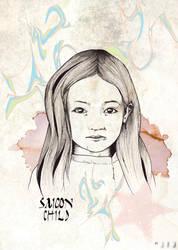 Saigon Child by jvmpainting