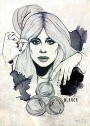 Blanca by jvmpainting