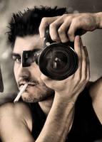 self portrait by t4nsu