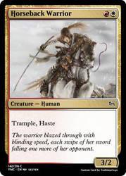 Horseback Warrior by Yoshimario40