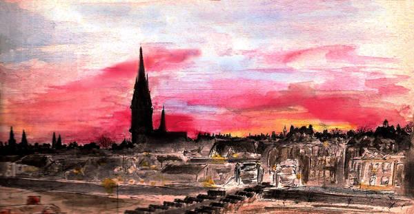 Edinburgh, Morningside at Dawn by PhoenixGR