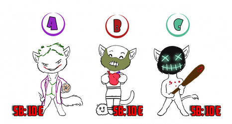 Halloween Ych-Auction for Furry.FM 2 by Mutabi