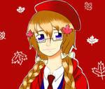 Lady Canada by Mikufan526