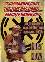 Star Wars Recruitment Poster 1 by Nova1701dms
