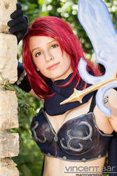 Observing something nice - Erza Knightwalker by YuyuCosplay