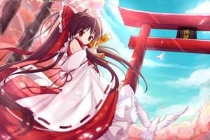 Sakura Dance by ShiroKujaku