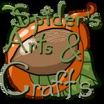 Spider's Arts and Crafts New Shop Logo! :D by SpiderMilkshake