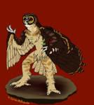 Wood Owl Bro--$/Points Adopt OPEN by SpiderMilkshake